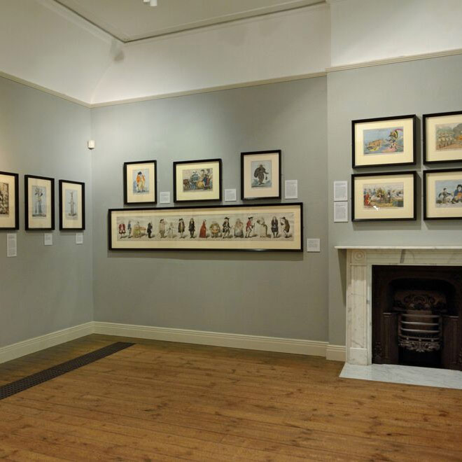 Gallery at Gainsborough's House