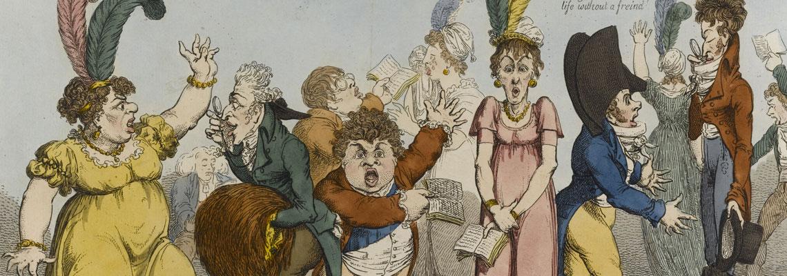 Samuel William Fores Cartoon