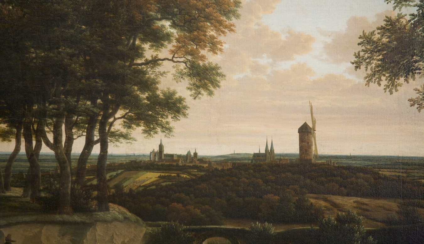 Joris van der Haagen, c.1615-69, View of Cleves, ca.1660, Oil on Canvas